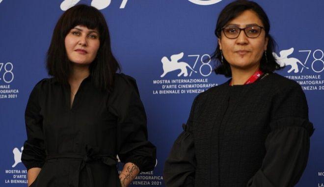 Η Σάχραα Καρίμι και η Σάρα Μάνι στο φεστιβάλ Βενετίας