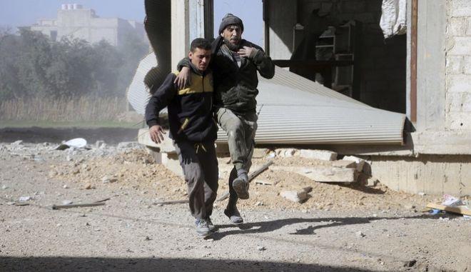 'Κομμένη' στα δύο η Ανατολική Γούτα: Οι δυνάμεις του Άσαντ κατέλαβαν το 50%