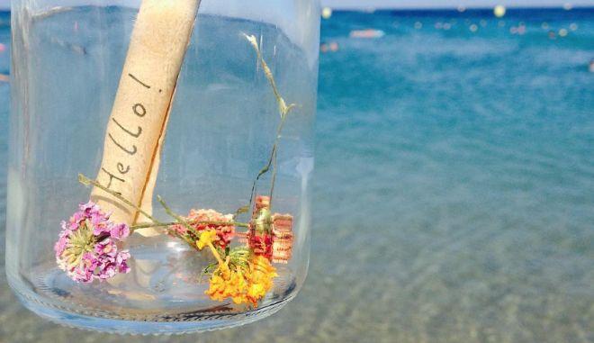 Ρόδος: Έριξαν μήνυμα σε μπουκάλι στην θάλασσα στις 4 Ιουλίου. Πού έφθασε μετά από 41 μέρες