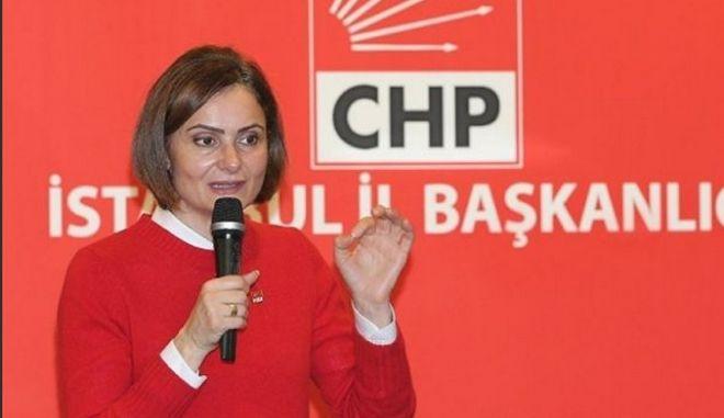 Εισαγγελική δίωξη κατά της επικεφαλής του CHP στην Κωνσταντινούπολη για προσβολή του προέδρου
