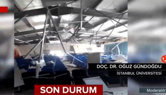 Σεισμός 5,8 Ρίχτερ στην Τουρκία: Τραυματίες και καταρρεύσεις σπιτιών