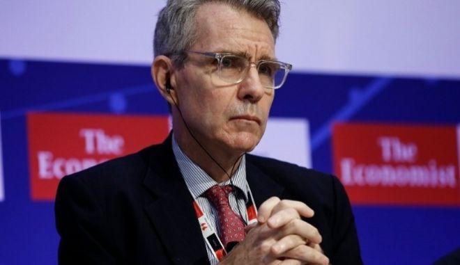 Τζέφρι Πάιατ στο συνέδριο του Economist