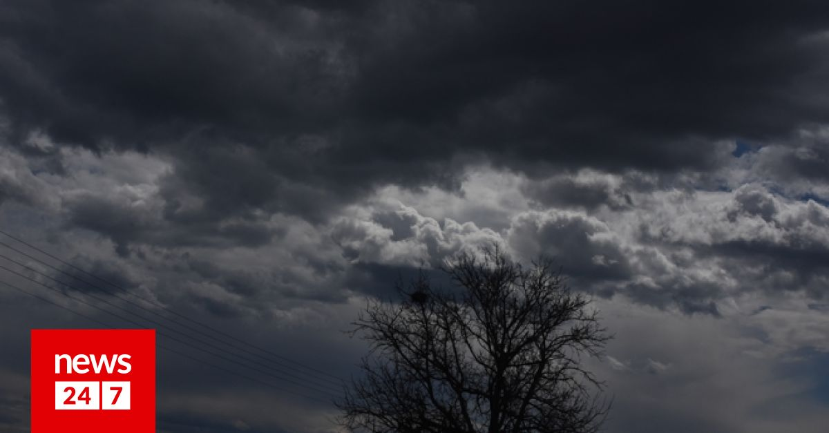 Καιρός: Έκτακτο δελτίο επιδείνωσης – Ισχυρές βροχές, καταιγίδες και χαλάζι – Καιρός