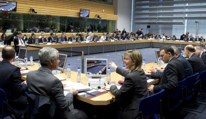 Συνεδρίαση του ECOFIN, την Τετάρτη 18 Δεκεμβρίου 2013, στις Βρυξέλλες.  (EUROKINISSI/ΣΥΜΒΟΥΛΙΟ ΤΗΣ Ε.Ε.)