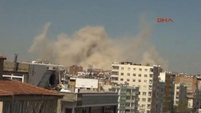 Τουρκία: Ισχυρή έκρηξη με έναν νεκρό στο Ντιγιάρμπακιρ