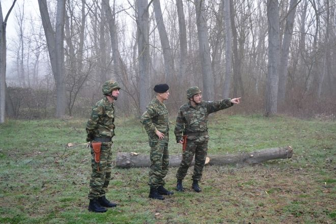Ο αρχηγός ΓΕΣ πήγε και στην περιοχή που συνελήφθησαν οι δύο Έλληνες στρατιωτικοί