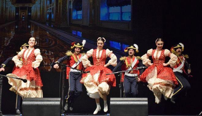Μάγεψαν την Αθήνα οι Ρώσοι της Κρατικής Χορωδίας των Κοζάκων του Κουμπάν