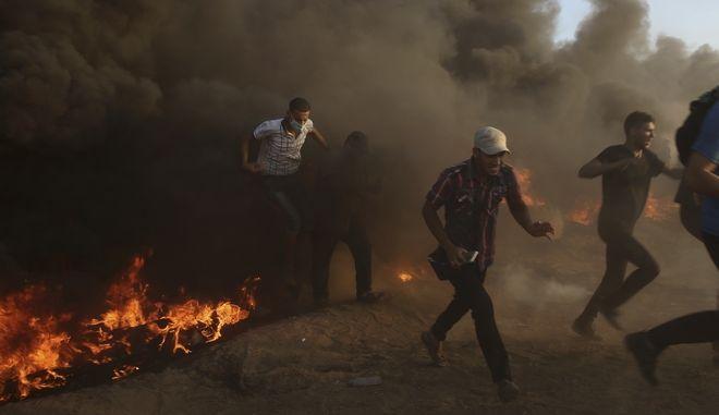 Συγκρούσεις Ισραήλ - Παλαιστίνης (φωτογραφία αρχείου)