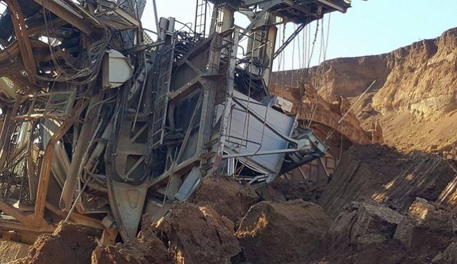 Κοζάνη: Οδηγός εκσκαφέα τραυματίστηκε από κατολίσθηση σε ορυχείο