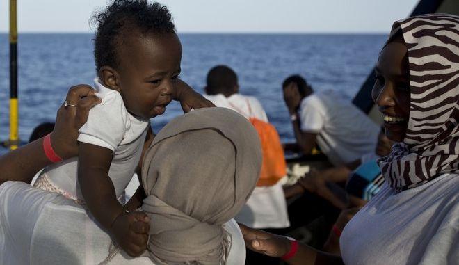 Ασυνόδευτα παιδιά προσφύγων