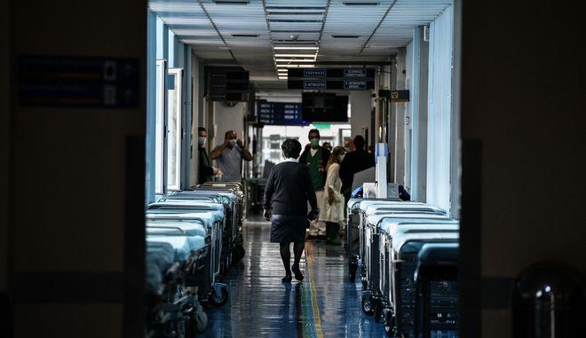 Εσωτερικό νοσοκομείου. Φωτογραφία αρχείου.