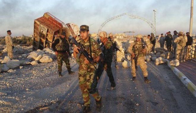 Ιράκ: 'Έπεσε' το τελευταίο προπύργιο του Ισλαμικού Κράτους στο Ραμάντι