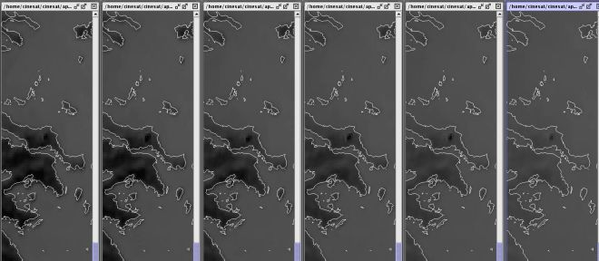 Φωτιά στην Εύβοια: Πώς φαίνεται από τον δορυφόρο