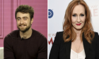 Ο Daniel Radcliffe και η J.K. Rowling