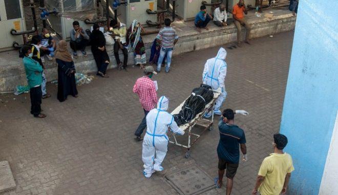 Στιγμιότυπο από νοσοκομείο της Ινδίας