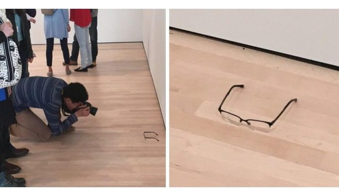 Πέρασαν για τέχνη ένα ζευγάρι γυαλιά!