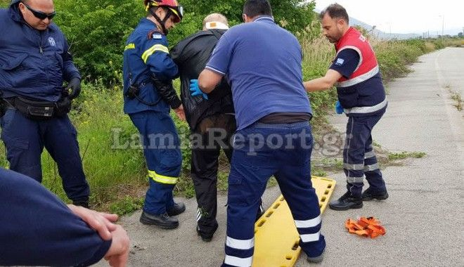 Ατύχημα στη Λαμία