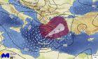Εξασθενημένοι άνεμοι, κίνδυνος πλημμυρικών φαινομένων ακόμη και στην Αττική προβλέπει το Εθνικό Αστεροσκοπείο