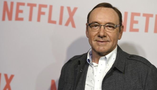 """FILE - In this April 27, 2015 file photo, Kevin Spacey arrives at the Q&A Screening of """"The House Of Cards"""" at the Samuel Goldwyn Theater in Beverly Hills, Calif. British media say police are investigating a second allegation of sexual assault against actor Kevin Spacey. London's Metropolitan Police force says it has received a complaint """"of sexual assaults against a man"""" in 2005, it was reported on Wednesday, Nov. 22, 2017. (Photo by Jordan Strauss/Invision/AP, File)"""