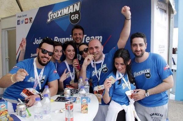 H Stoiximan στον 11ο Διεθνή Μαραθώνιο 'Μέγας Αλέξανδρος'