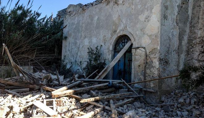 Καταστροφές μετά τον σεισμό 6,4 Ρίχτερ στον υποθαλάσσιο χώρο ανοικτά της Ζακύνθου