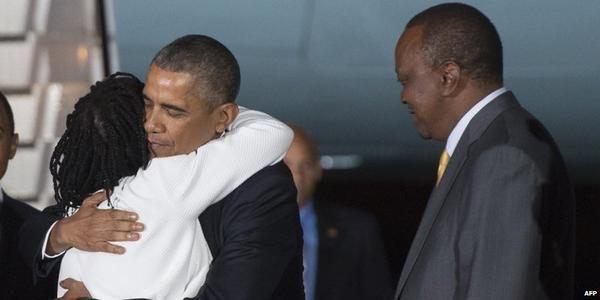 Πρώτη επίσκεψη Ομπάμα στο Ναϊρόμπι μετά την εκλογή του στο προεδρικό αξίωμα
