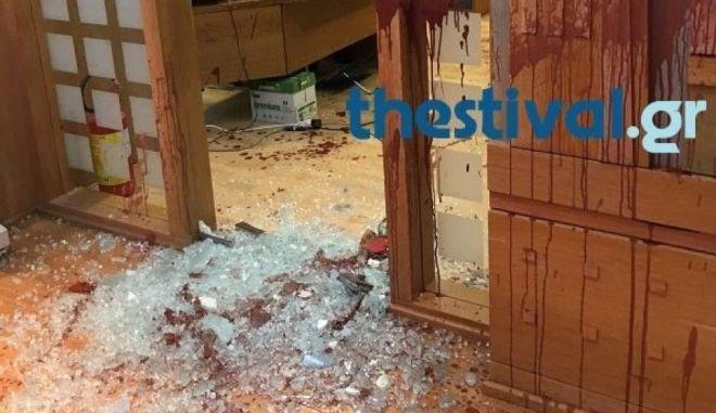 Ανάληψη ευθύνης για την επίθεση στην πρυτανεία του Πανεπιστημίου Μακεδονίας