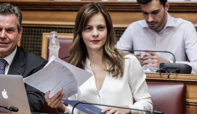 Η Διαρκής Επιτροπή Κοινωνικών Υποθέσεων θα συνεδριάσει με θέμα ημερήσιας διάταξης: Συνέχιση της επεξεργασίας και εξέτασης του σχεδίου νόμου του Υπουργείου Εργασίας, Κοινωνικής Ασφάλισης και Κοινωνικής Αλληλεγγύης «Συνταξιοδοτικές ρυθμίσεις Δημοσίου και λοιπές ασφαλιστικές διατάξεις, ενίσχυση της προστασίας των εργαζομένων, δικαιώματα ατόμων με αναπηρίες και άλλες διατάξεις». Τρίτη 4 Σεπτεμβρίου 2017(EUROKINISSI/ΓΙΩΡΓΟΣ ΚΟΝΤΑΡΙΝΗΣ)