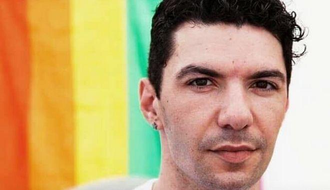 Ο Ζακ Κωστόπουλος, ακτιβιστής της ΛΟΑΤΚΙ κοινότητας