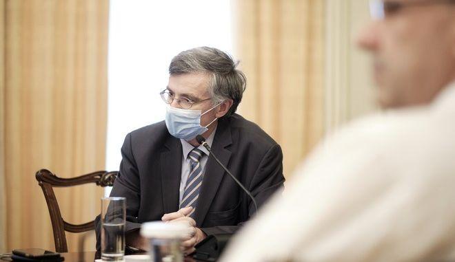 Ο καθηγητής επιδημιολογίας Σωτήρης Τσιόδρας.