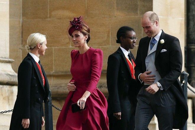 Ο πρίγκιπας Ουίλιαμ και η δούκισσα του Κέμπριτζ, Κέιτ