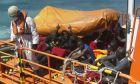 Διάσωση μεταναστών στην Ισπανία