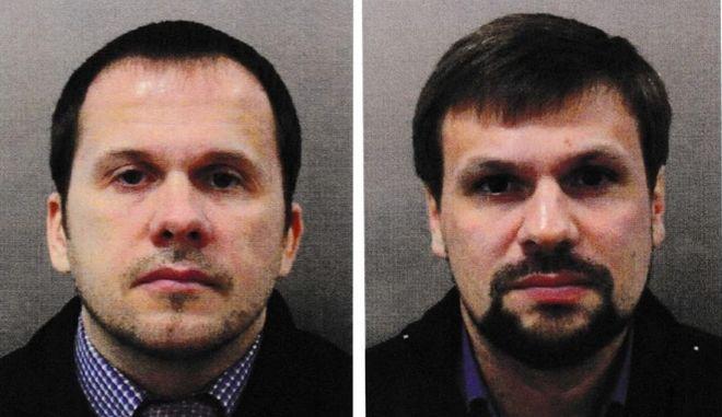 Οι δύο Ρώσοι που κατηγορούνται για την απόπειρα δολοφονίας του Σεργκέι Σκριπάλ και της κόρης του
