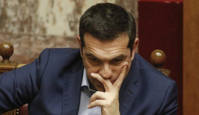 O πρωθυπουργός, Αλέξης Τσίπρας