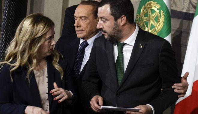 Σε εξέλιξη ο δεύτερος γύρος διαβουλεύσεων για τον σχηματισμό κυβέρνησης στην Ιταλία
