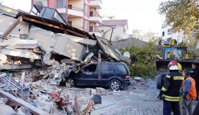 Σεισμός 6,4 Ρίχτερ στην Αλβανία: Νεκροί και τραυματίες