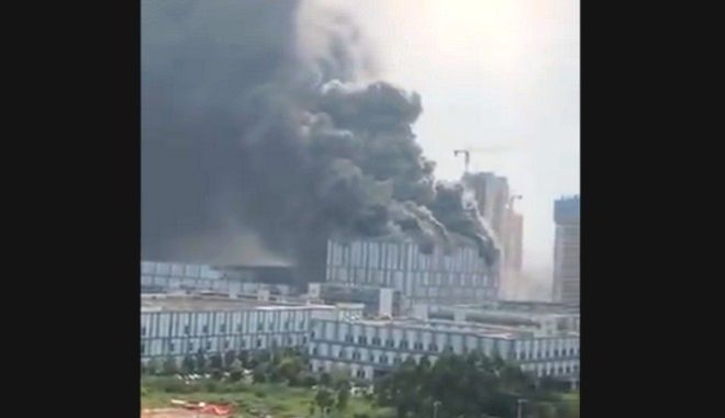 Κίνα: Φωτιά σε ερευνητικό εργαστήριο της Huawei