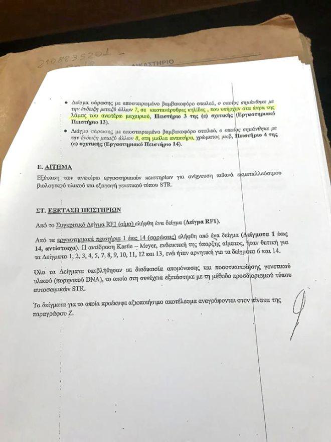 Θάνατος Ζακ Κωστόπουλου: Η Έκθεση για το DNA και τα κενά