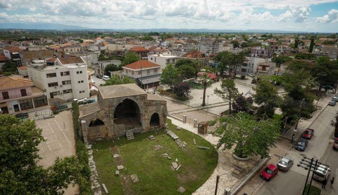 Εικόνες από την κωμόπολη της Ανδραβίδας στην Ηλεία.