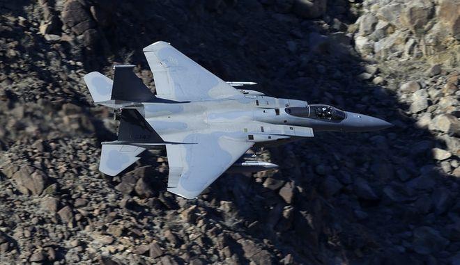Μαχητικό αεροσκάφος F-15 - Φωτογραφία αρχείου (AP Photo/Ben Margot)
