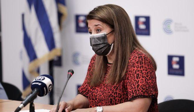 Η καθηγήτρια Παιδιατρικής Λοιμωξιολογίας και μέλος της επιτροπής Εμπειρογνωμόνων Βάνα Παπαευαγγέλου.