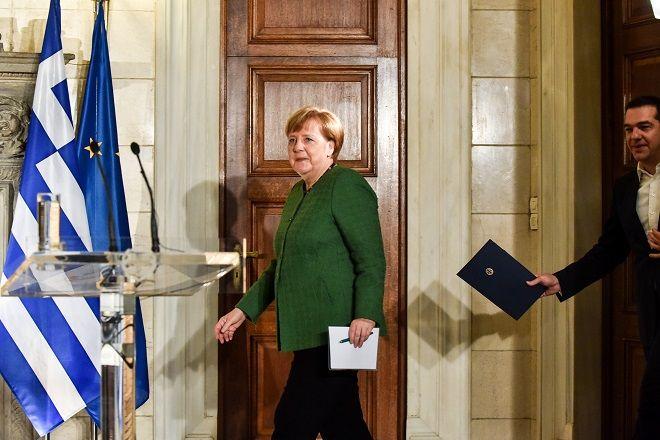 Συνάντηση του Πρωθυπουργού Αλέξη Τσίπρα με την Καγκελάριο της Γερμανίας Άνγκελα Μέρκελ, την Πέμπτη 10 Ιανουαρίου 2019, στο Μέγαρο Μαξίμου.