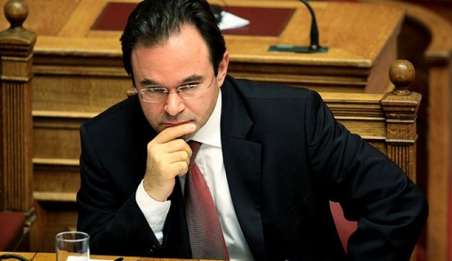 Minister of finance George Papaconstantinou