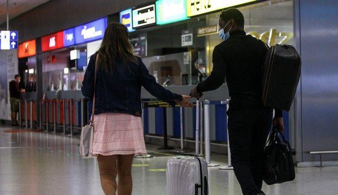 """Εικόνα από το αεροδρόμιο """"Ελ. Βενιζέλος"""""""