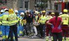 Ένας νεκρός, 10 τραυματίες από κατάρρευση σκαλωσιάς σε πολυτελές ξενοδοχείο