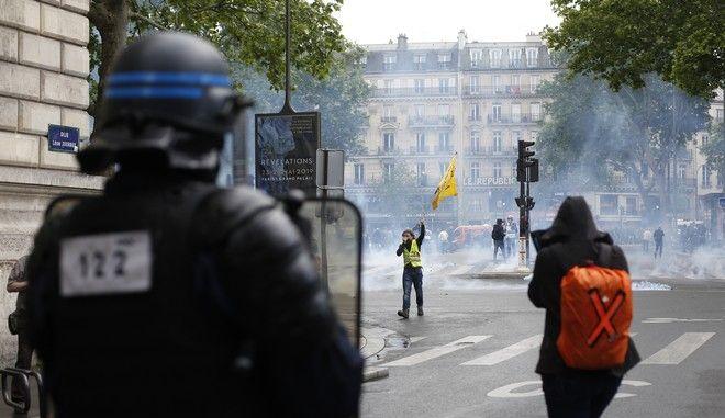 Κινητοποίηση των κίτρινων γιλέκων στο Παρίσι