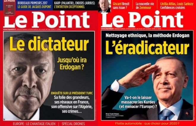 Γαλλικό περιοδικό πήρε βραβείο για το εξώφυλλο που εξόργισε τον Ερντογάν