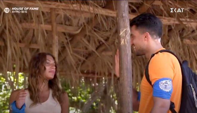 "Survivor 4: Μπήκε ο πρώην της Μαριαλένας - ""Ξερνάω, τι καραγκιόζης είναι"""