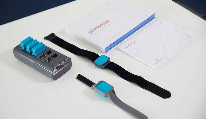 Η νέα συσκευή παρακολούθησης ασθενών με νόσο Πάρκινσον.