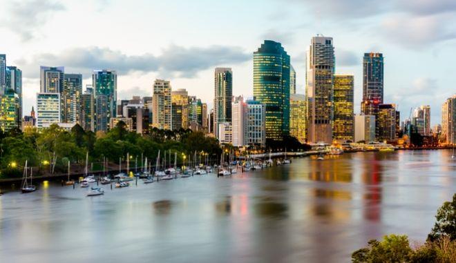 Η πόλη Μπρίσμπειν, στην Αυστραλία.